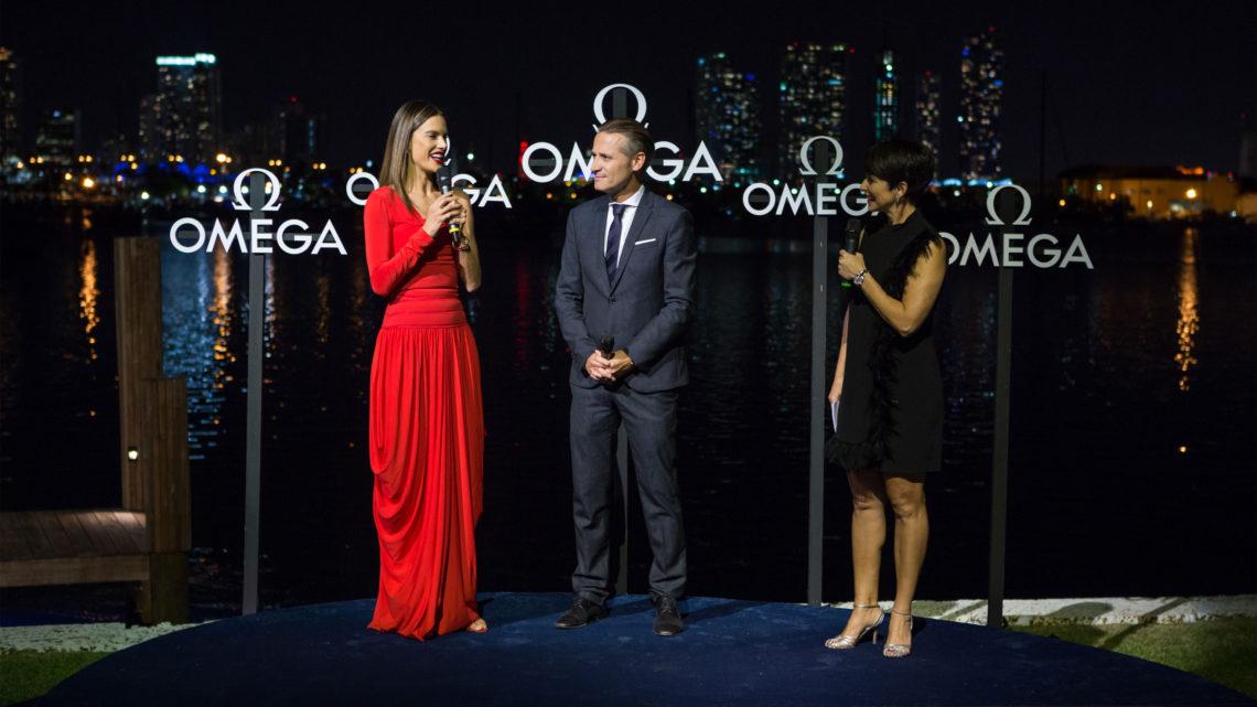 Omega Watches Alessandra Ambrosio Miami Aqua Terra Kollektion