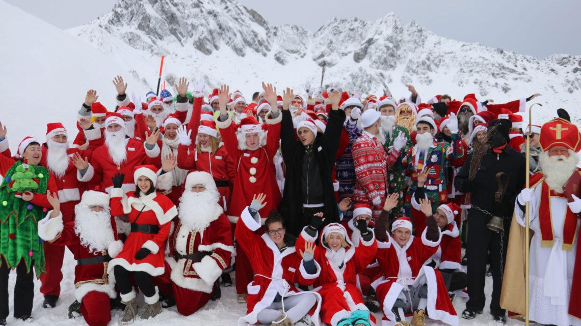 Samnaun Samichlaus Nikolaus Weihnachtsmann Wettkampf Ischgl