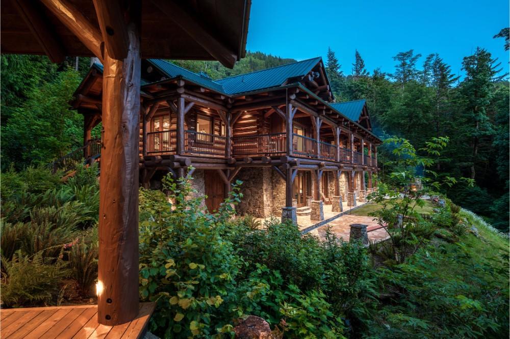 Berghütte Kanada Residenz Luxus