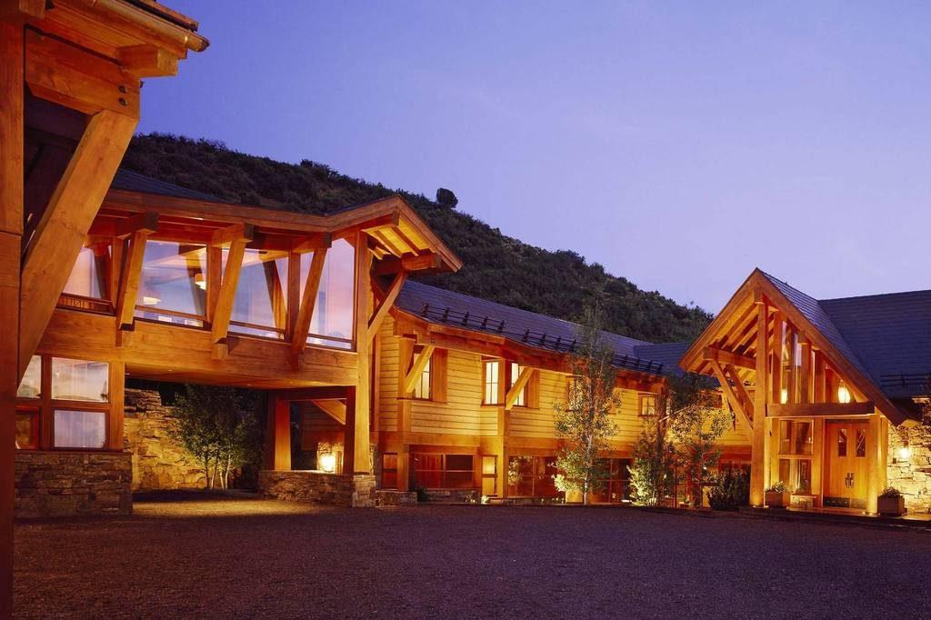 Berghütte USA Rocky Mountains Holz Architektur