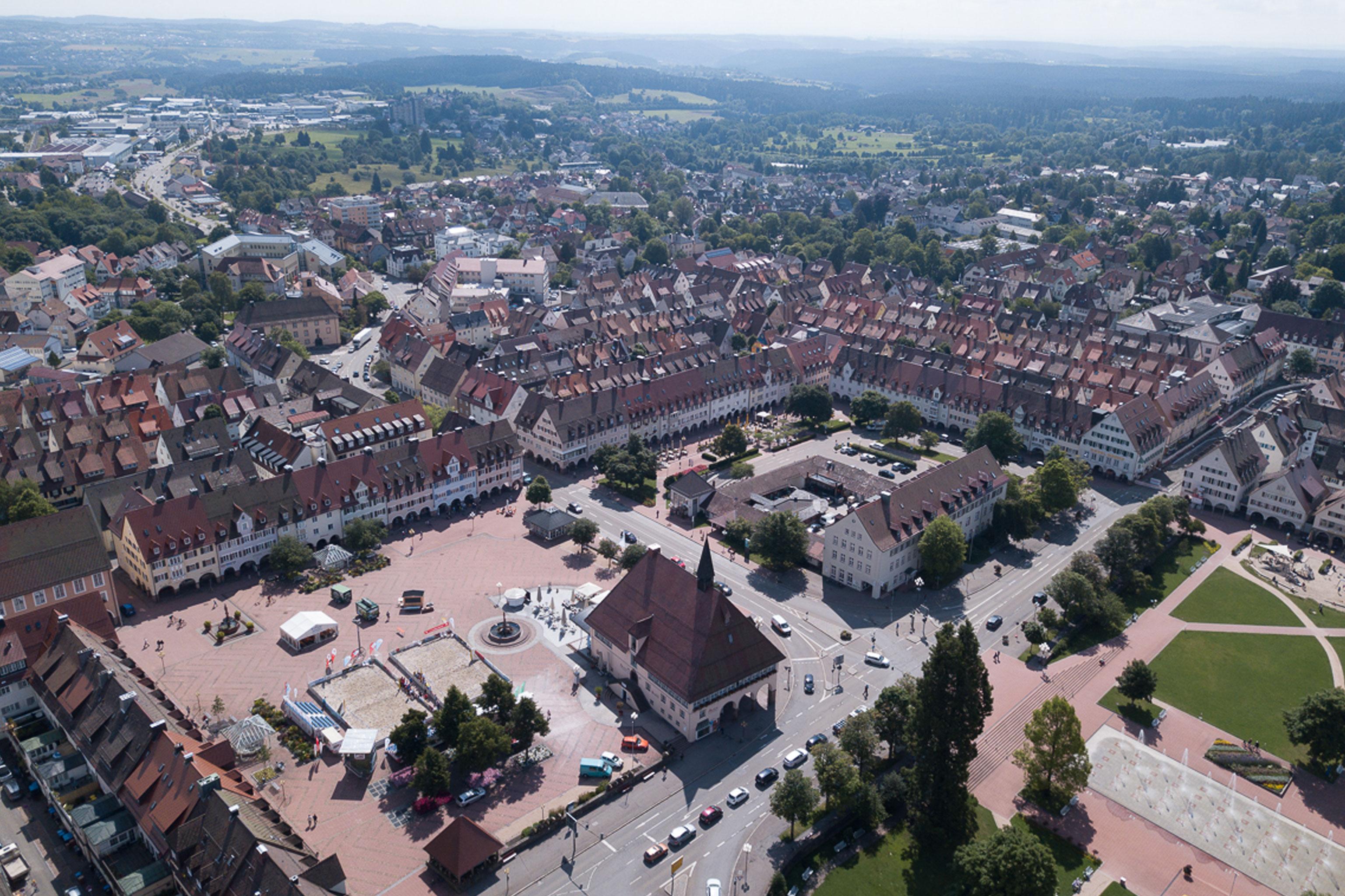 Größter Marktplatz Deutschlands