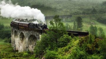 Jacobite Steam Train Harry Potter Scotland