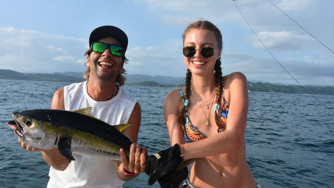 Costa Rica Urlaub Reisen Pura Vida Fischen Hochseefischen