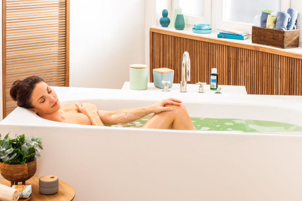 Rückenschmerzen Entspannungsbad Tipps Gesundheitsbad Tetesept
