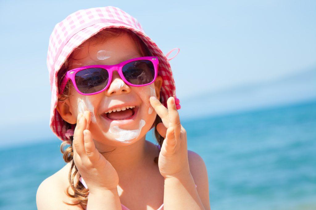 Sonnenschutz Sonnencreme Kind sensible Haut Nachsorge Urlaub