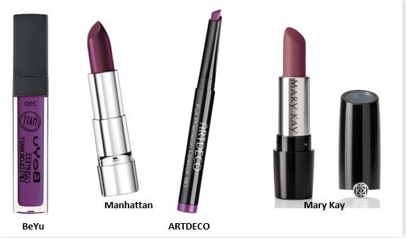 Trendfarbe Ultra Violett Lippenstift