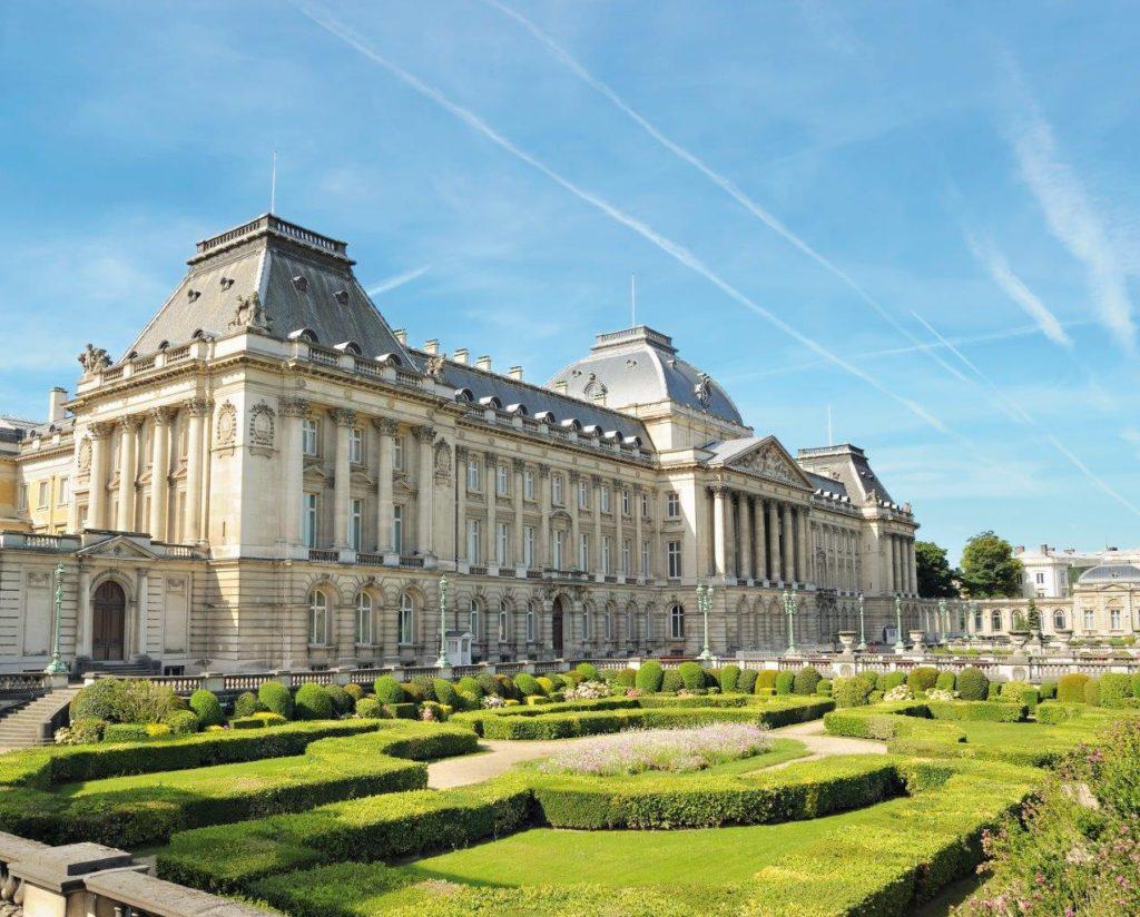 Brüssel Reise Tim und Struppi Königspalast Belgien Hauptstadt