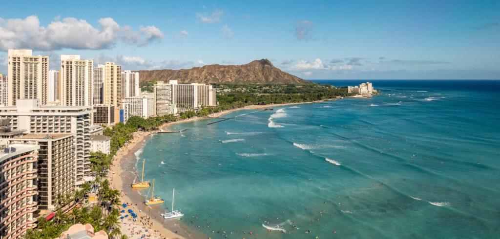Waikiki Beach USA