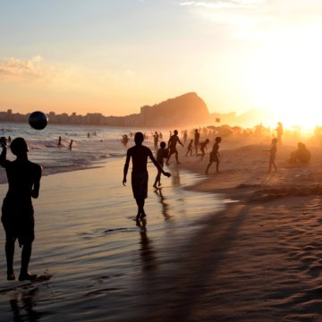 Copacabana Brasilien