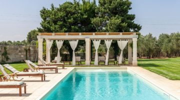 Il Tabacchificio Apulien Design Luxus Pool