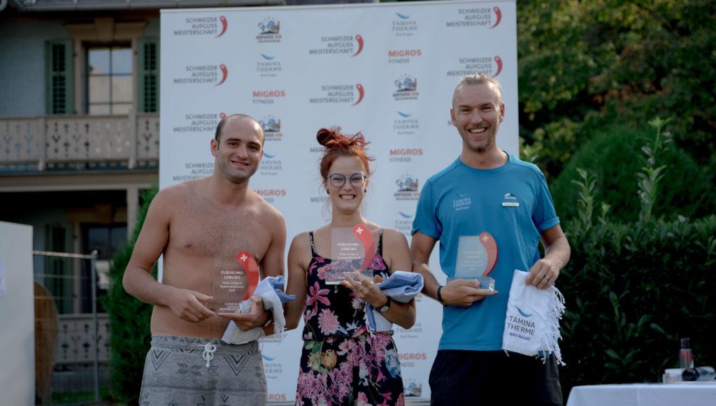 Schweizer Aufguss Meisterschaft Sieger Bad Ragaz Tamina Therme