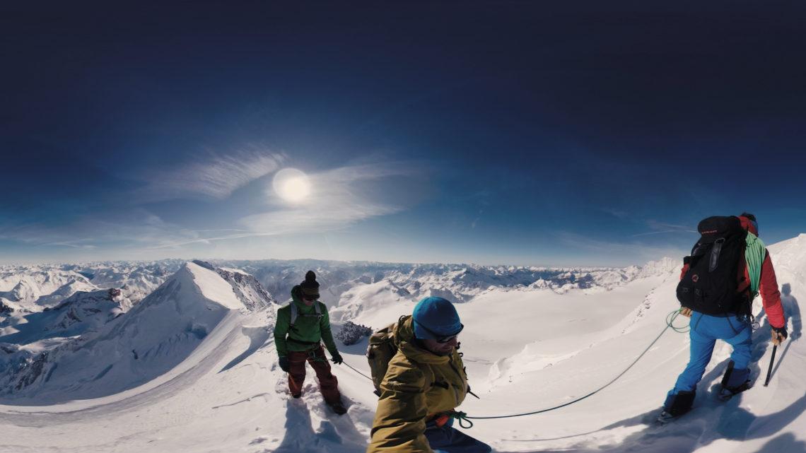 VR Kino Diavolezza Winter Bergwelt Oberengadin