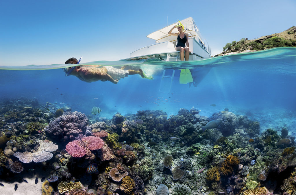 Tourism and Events Queensland (TEQ) Korallen Great Barrier Reef Klimawandel Erholung