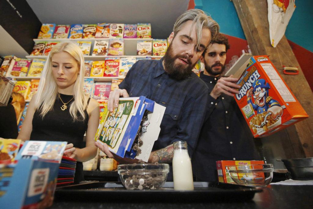 Verrückte Restaurants Cereal Killer Café London