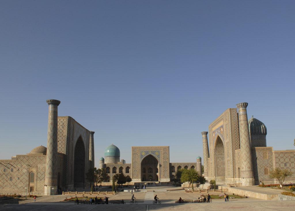 Registan Samarkand Usbekistan Top Reiseziele 2019