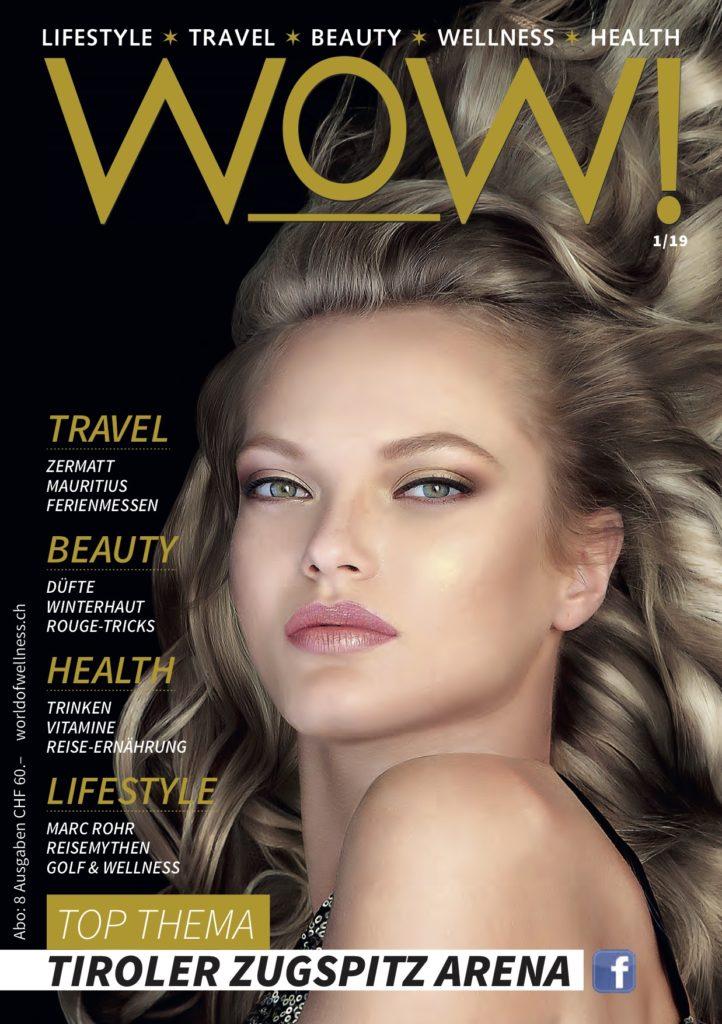 Neue Ausgabe WOW! Top Thema Tiroler Zugspitz Arena