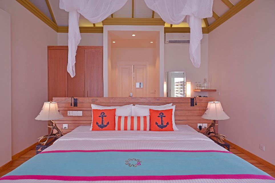 Sun Aqua Siyam Resorts Iru Veli Suite innen