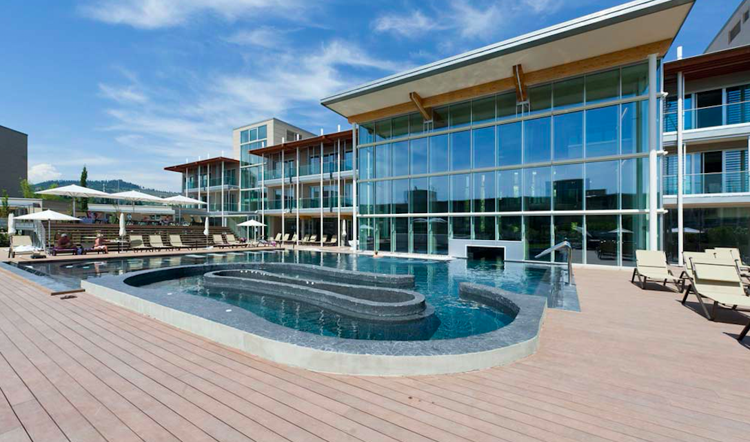 Aqualux Hotel Bardolino Aussenpool