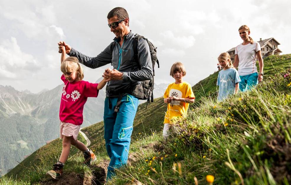 Ideen Familienreise Wandern Subaital Tirol