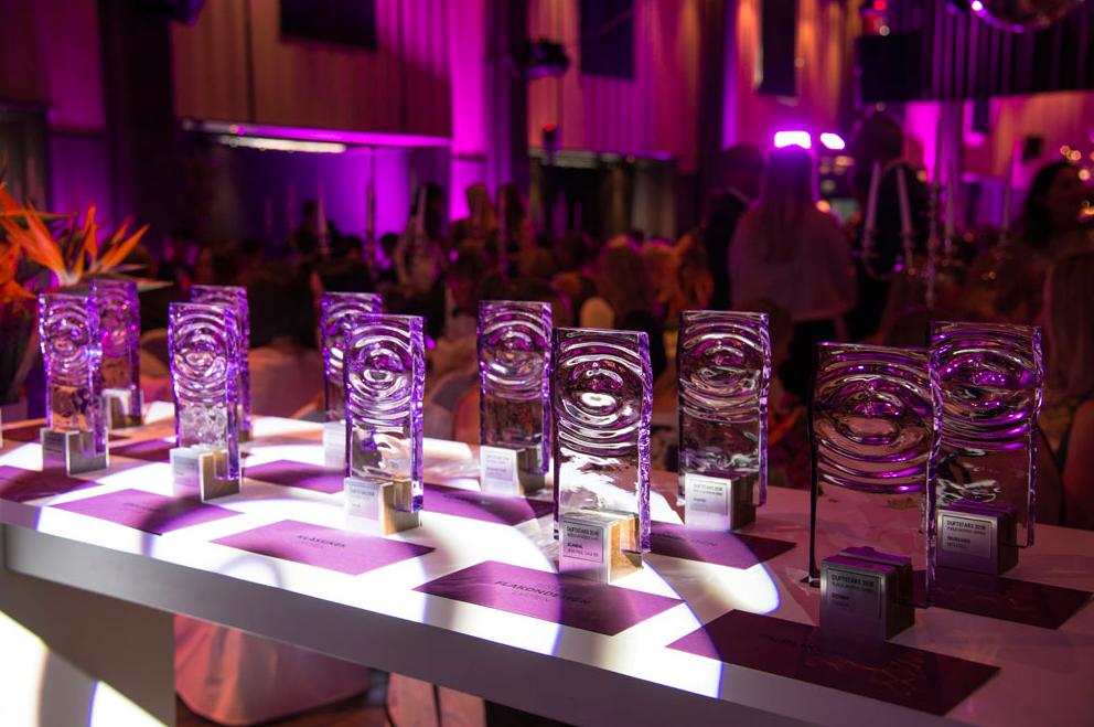 Duftstars Schweizer Parfümpreis Verleihung Pokale