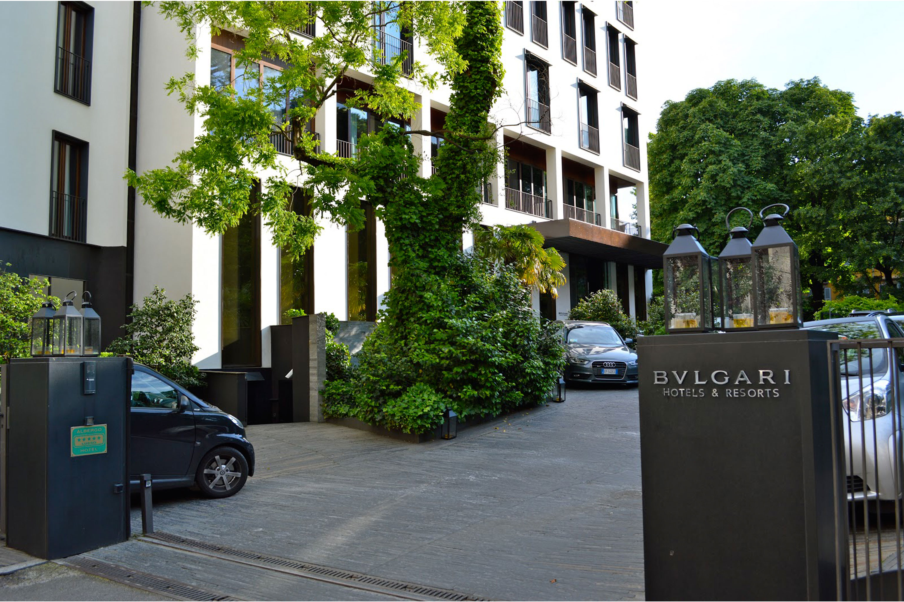 Bulgari Hotel Restaurant Milan
