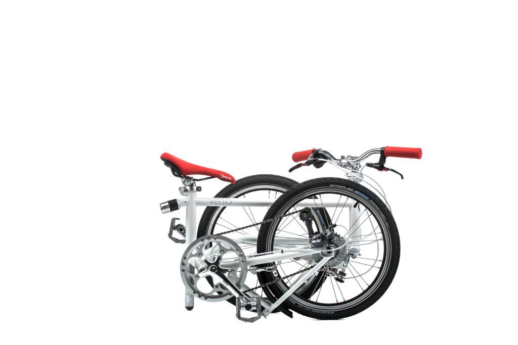 Velo zusammenklappen Klapp-Velo Fahrrad VELLO Urbano
