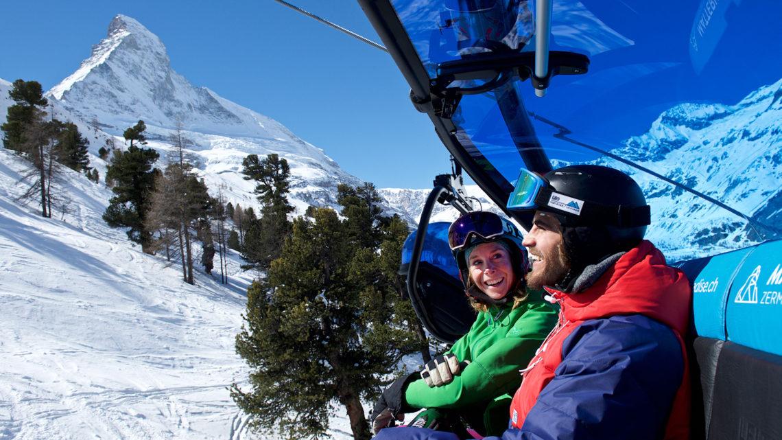 Skispass Zermatt Bergbahnen Gornergrat Bahn Wolli Card Stundenkarte Winterferien