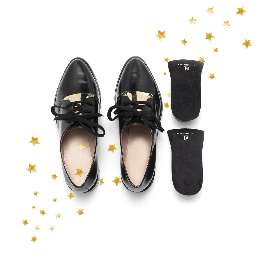 Get Long Legs Geschenk für kleine Present Schuhe Shoes