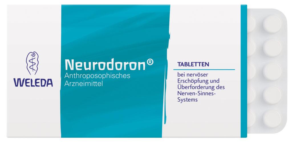 Neurodoron Tabletten Weleda Entspannung Muskeln Rückenschmerzen