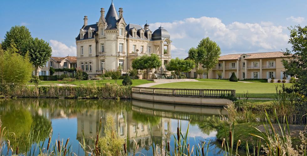 Chateau in Bordeaux Royale Übernachtung Hochzeit Traum