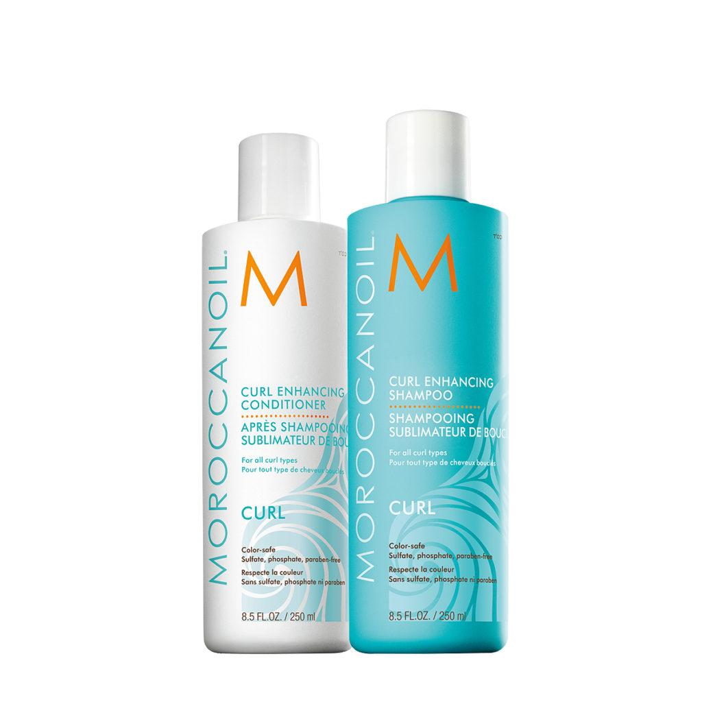 Moroccanoil Curl Enhancing Shampoo Conditioner RGB