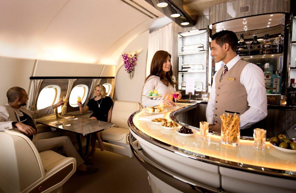 Emirates Malediven Kulinarik Wein