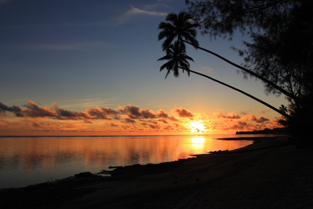 Rarotonga Beach Cook Islands