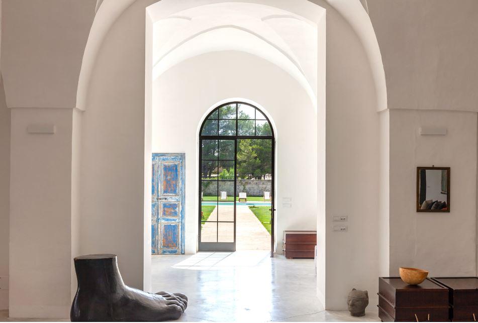 Il Tabacchificio Design Kunst Apulien Ferienvilla