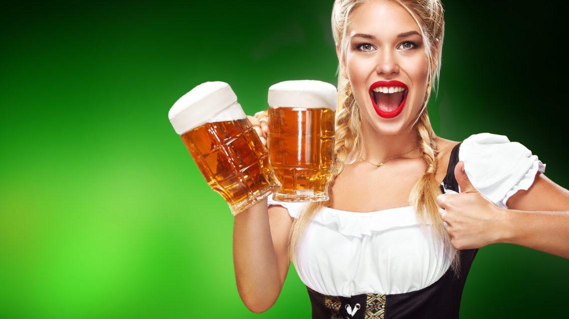 Wiesen 2018 Wiesn Fest Bier Maas Weisswurst Brezel Brezn