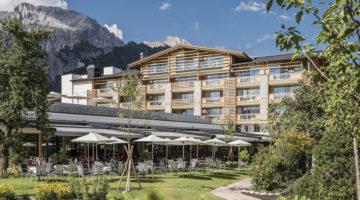 Alpenresort Schwarz Umbau Wellness Spa Österreich Luxus Neu