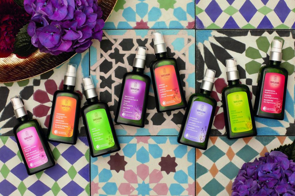Weleda Körperöle, à 100 ml, zwischen CHF 13.– bis 18.50 Top-Produkte für die Haut