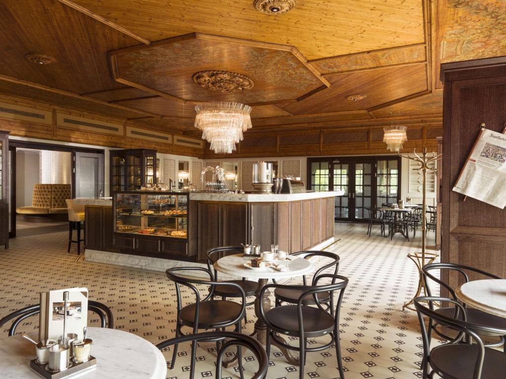 Interalpen-Hotel Tyrol Tirol Café Wien