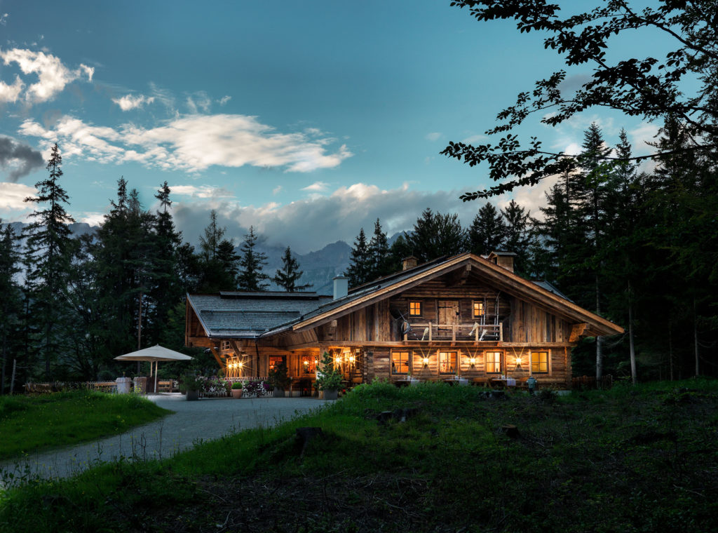 Interalpen-Hotel Tyrol Tirol Interalpem Alm Restaurant