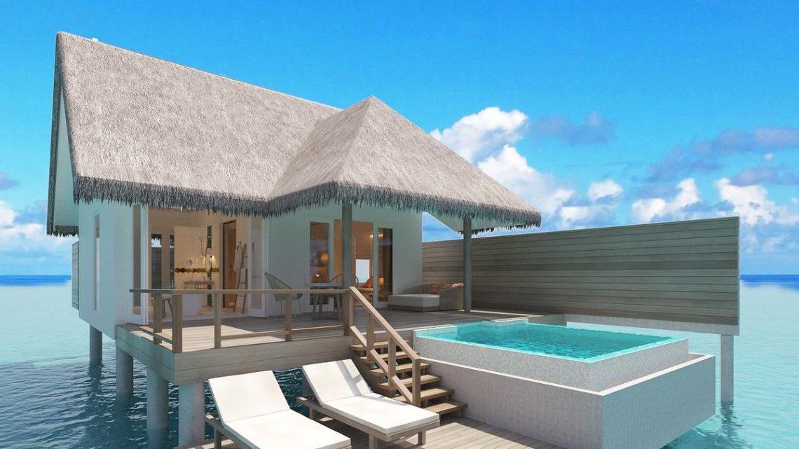 Sun Aqua Siyam Resorts Iru Veli Überwasser Bungalow