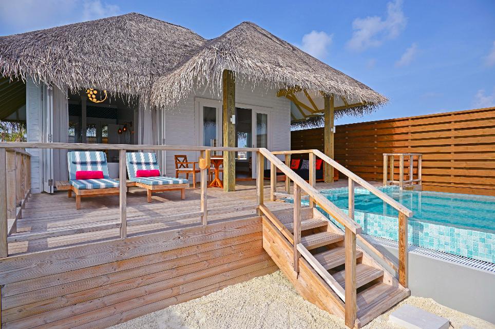 Sun Aqua Siyam Resorts Iru Veli Suite aussen