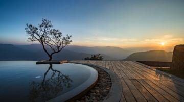Prakriti Shakti Spa Resort Indien Aussicht