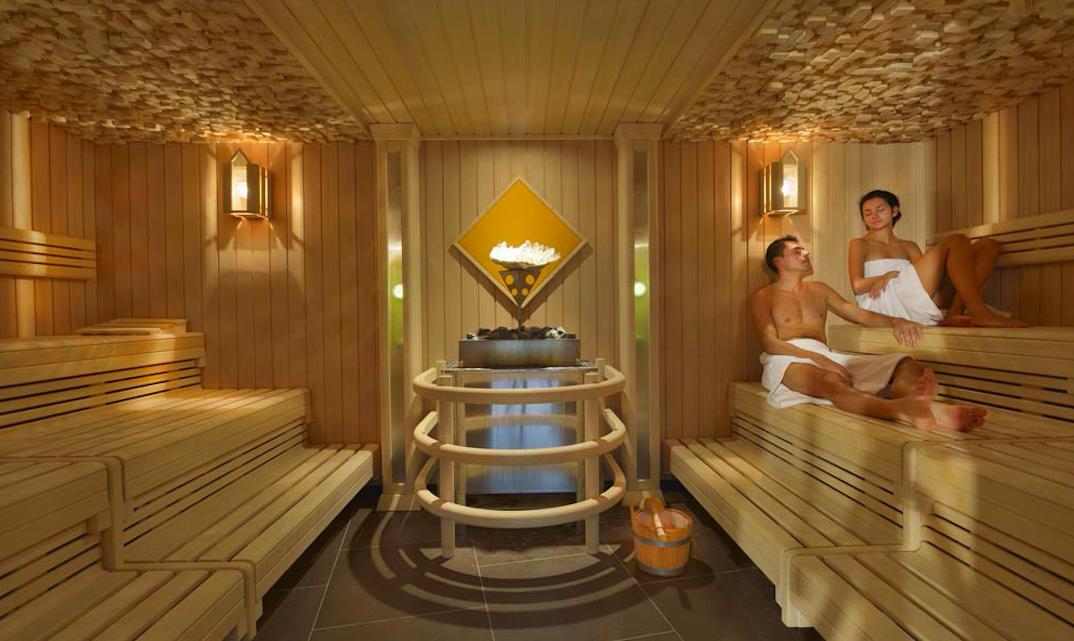 Aqualux Spa Hotel Sauna Paar