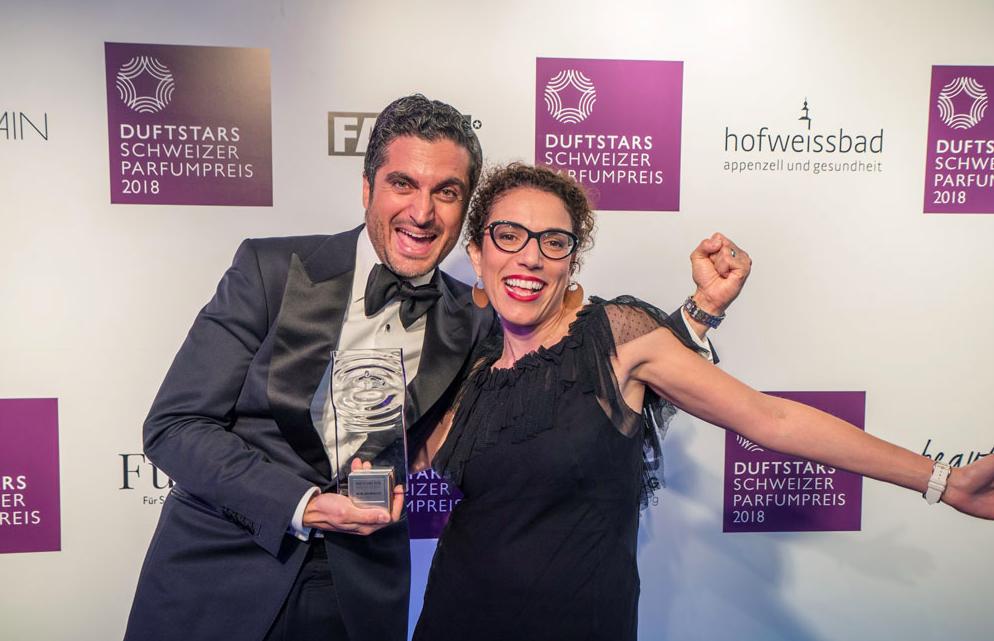 Duftstars Schweizer Parfümpreis Gewinner 2018