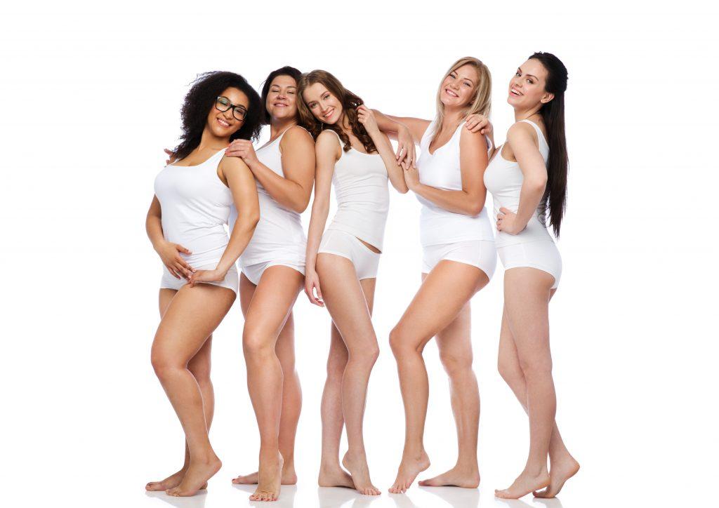 Schönheit Beauty Methoden verschiedene Körper