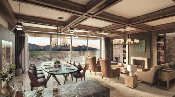Interalpen Tyrol Hotel Living Room Sommerberge WOW