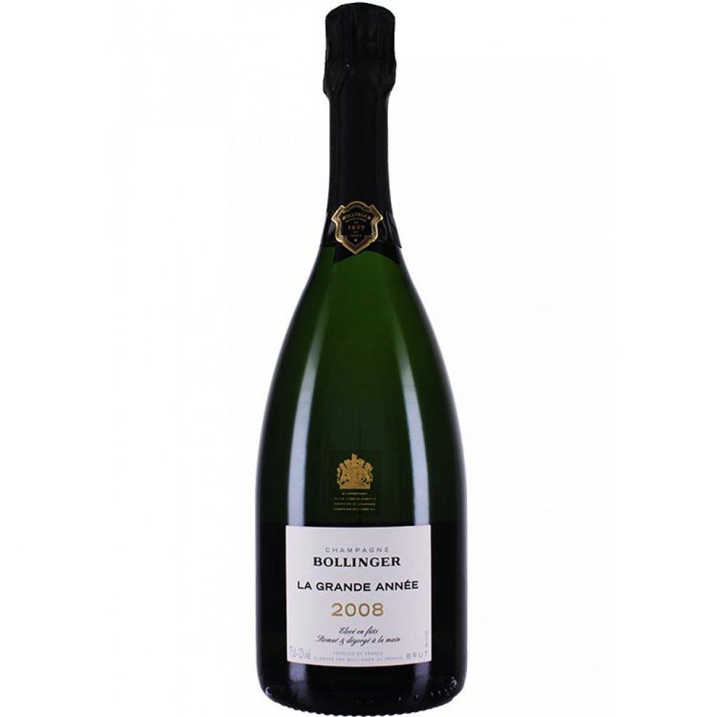 Bollinger Champagne La Grande Année 2008 worldofwellness