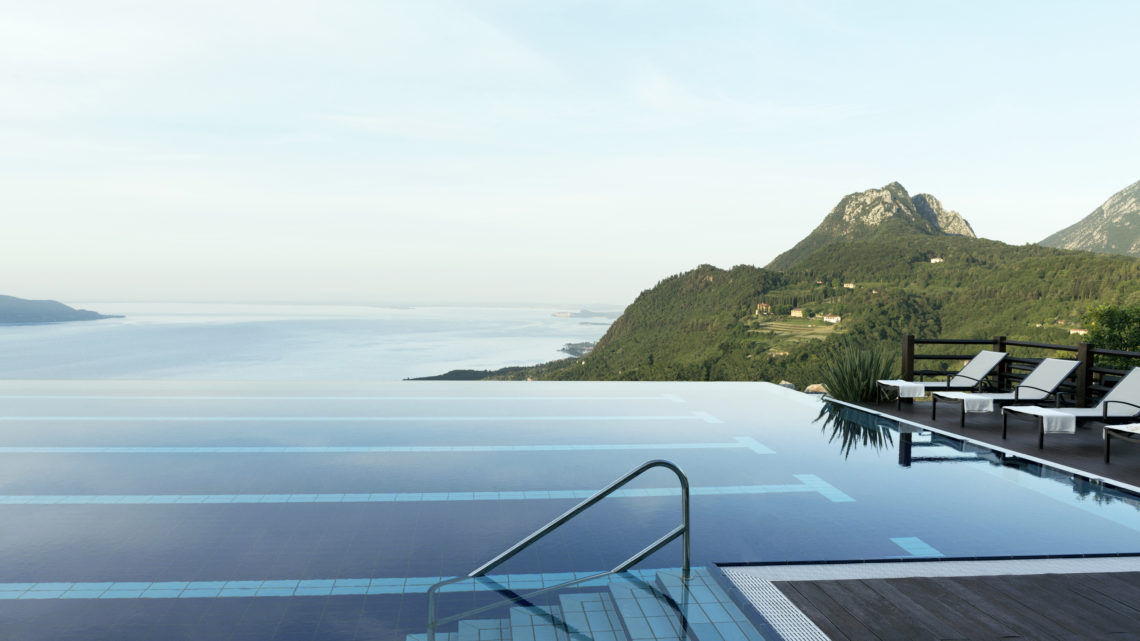 Lefay Resort & Spa Lago di Garda Infinity Pool worldofwellness