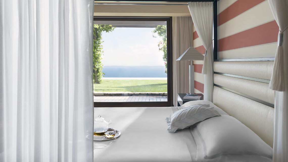 Lefay Resort & Spa Lago di Garda Royal Suite Master Bedroom worldofwellness