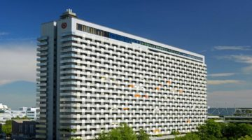 Sheraton München Arabellapark Hotel aussen worldofwellness